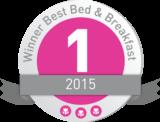 winnaar best bed and breakfast 2015 logo.png 2015